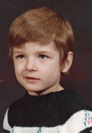 MICHEL à 4 ans (1972)