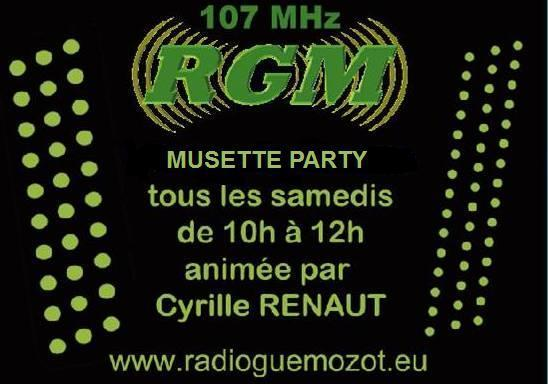 Logo musette party